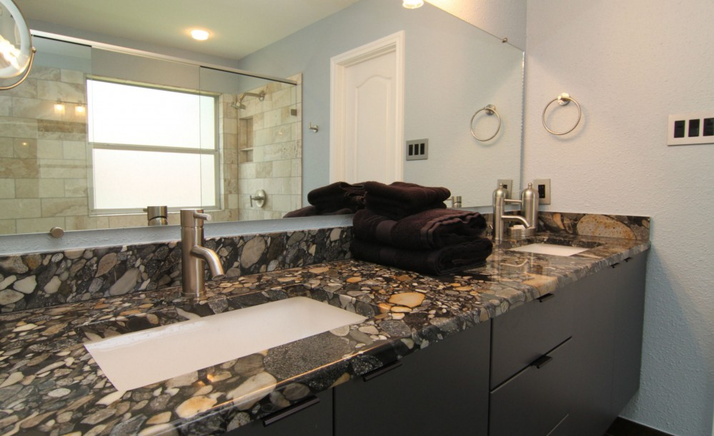 Photo By On Time Baths + Kitchens. South Austin Cool