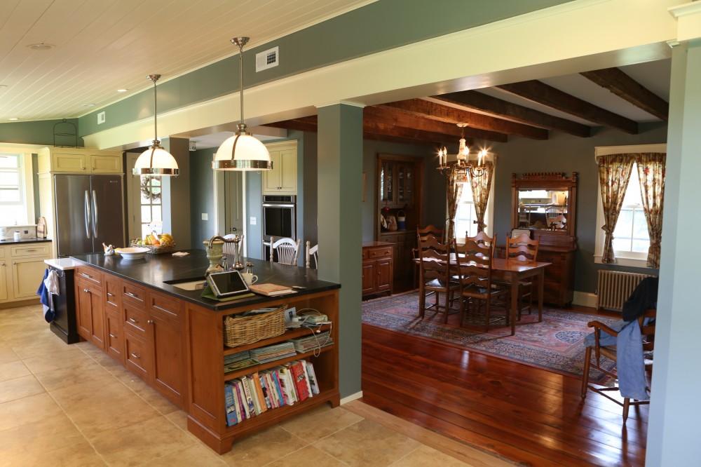 Photo By Bryhn Design/Build. Porch & Kitchen Remodel
