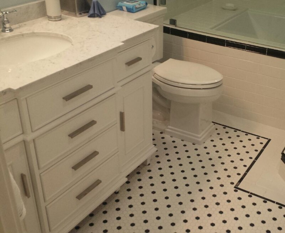Photo By A Plus Design & Remodeling. Bathroom Remodel