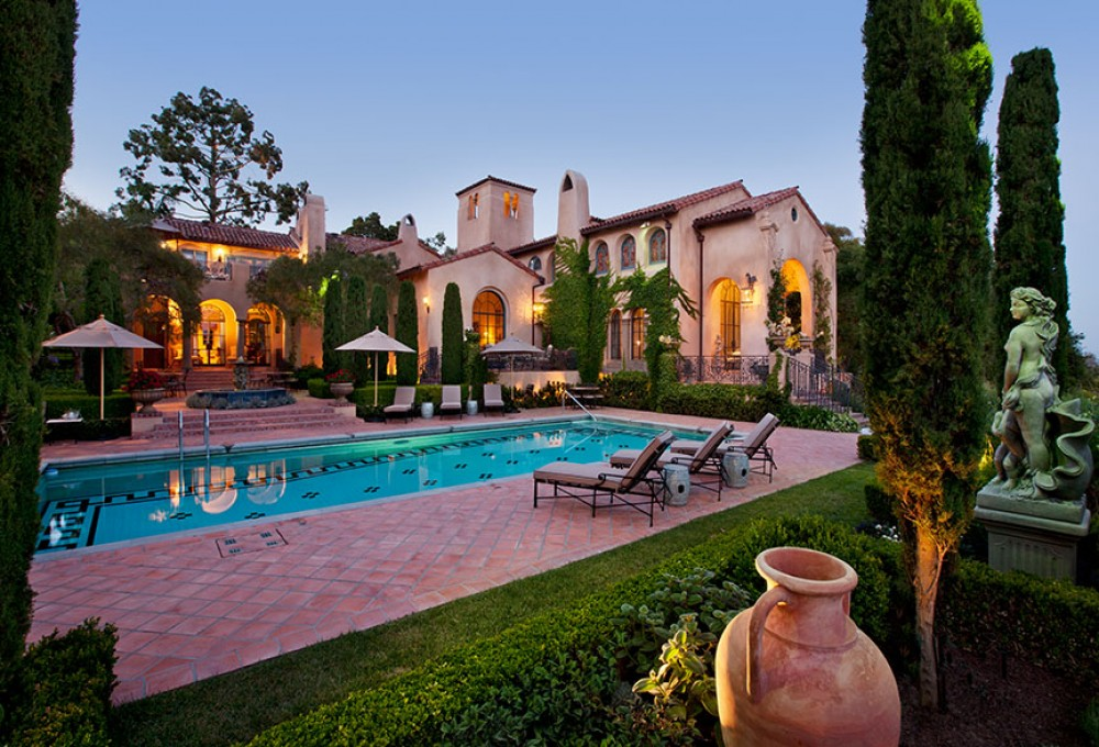 Photo By DD Ford Construction. Montecito Estate