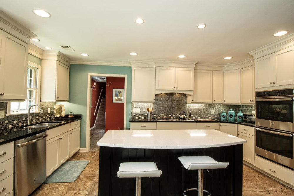 Photo By Heritage Builders. Modern Kitchen Remodel