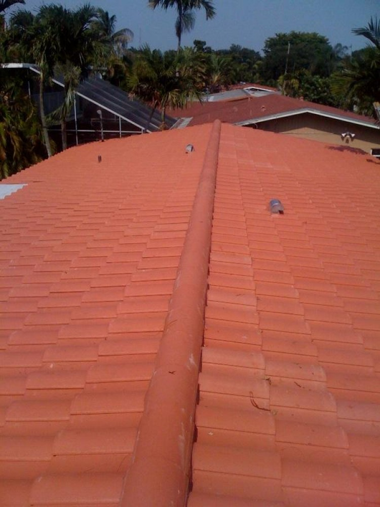 Photo By Roche Roofing, Inc.. Tile Roof