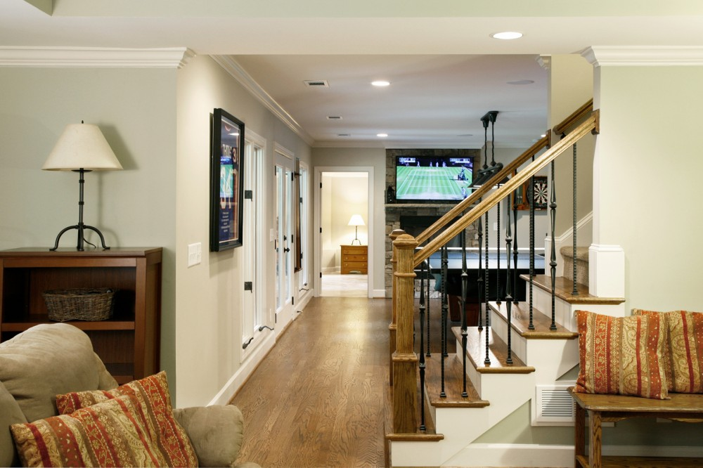 Photo By Atlanta Design And Build. Sports Bar Basement