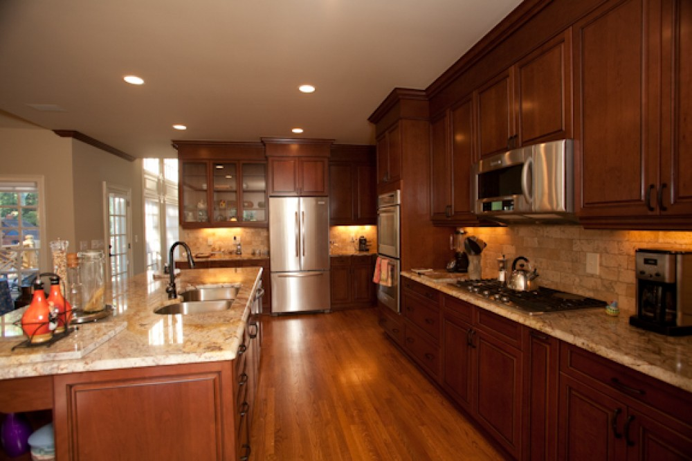 Photo By LEFKO Design + Build. Kitchens