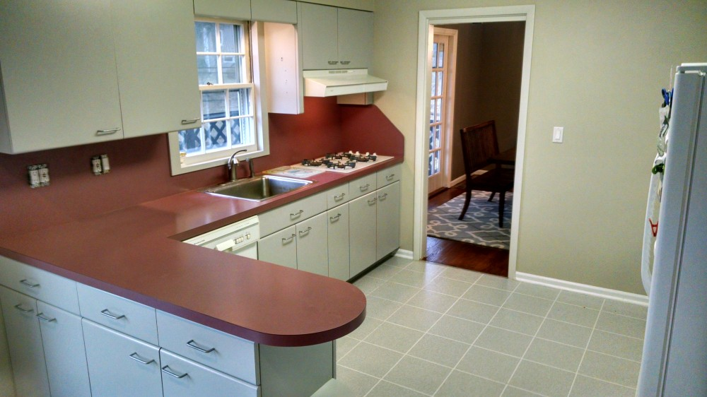 Photo By Morehouse Improvements, LLC. Kitchen Remodel BEFORE Photos