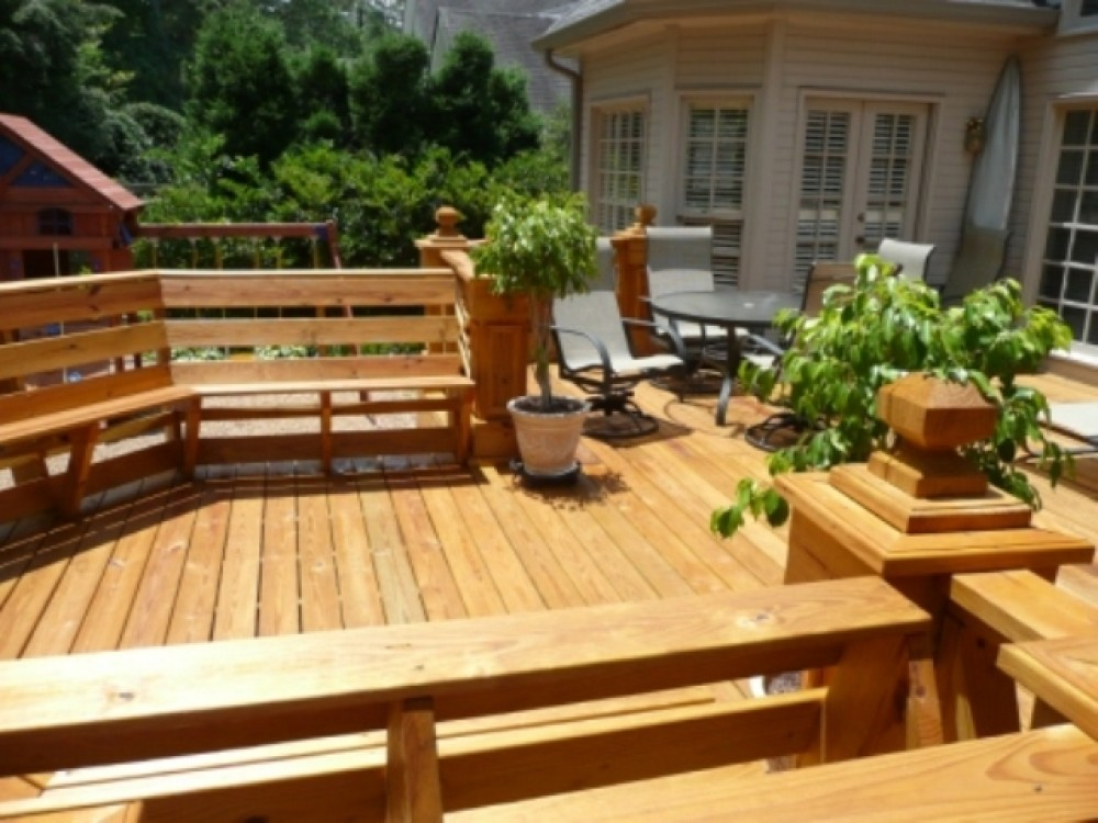 Photo By LEFKO Design + Build. Decks