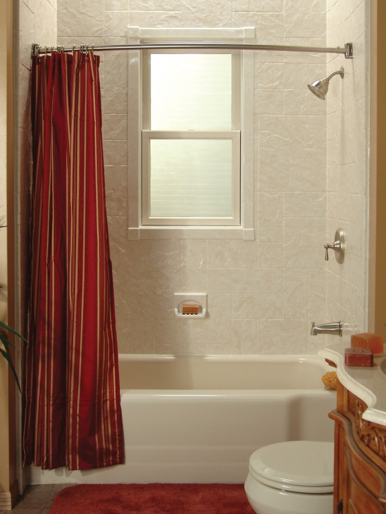 Photo By MaxHome. Great Bath Remodel