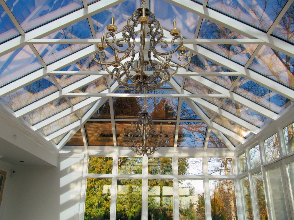 Photo By Four Seasons Sunrooms & Windows. A Four Seasons Crystal Palace