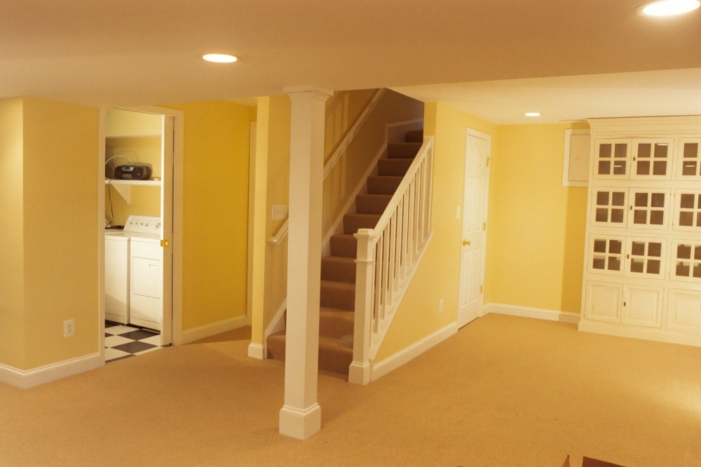 Photo By Houseworks Unlimited, Inc.. Craftsman Basement Remodel
