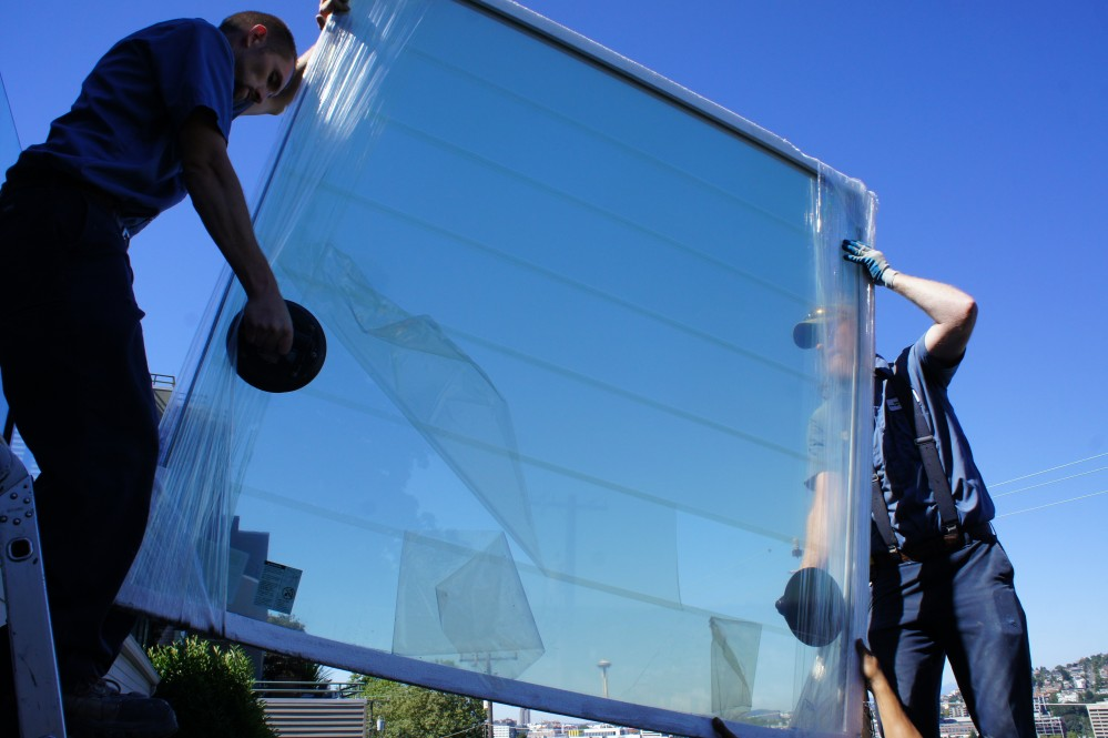 Photo By Washington Energy Services. Window Installation