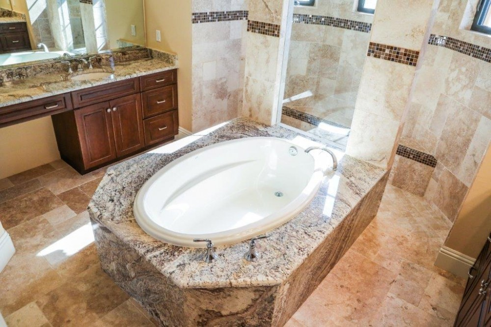 Photo By Marco Island Floor & Remodeling. Dripping In Granite