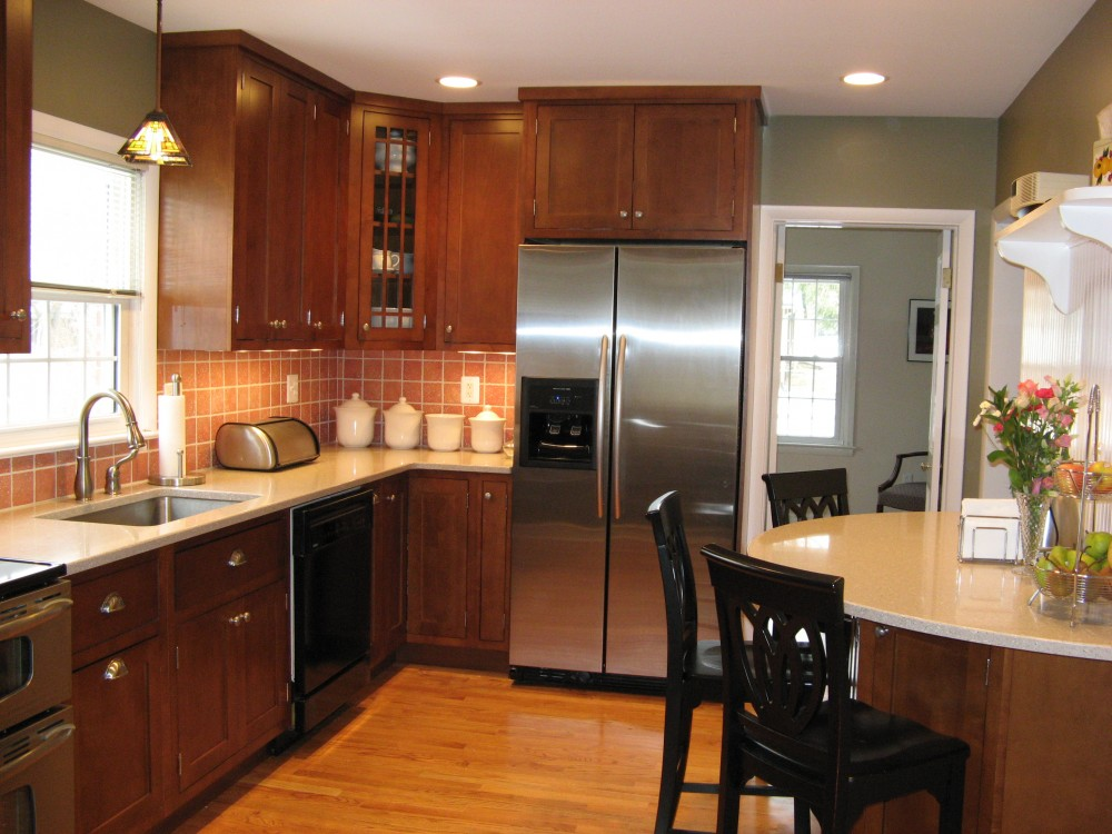 Photo By Houseworks Unlimited, Inc.. Washington Grove Kitchen Remodel