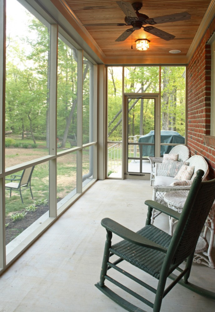 Photo By Houseworks Unlimited, Inc.. Mount Airy Screened Porch