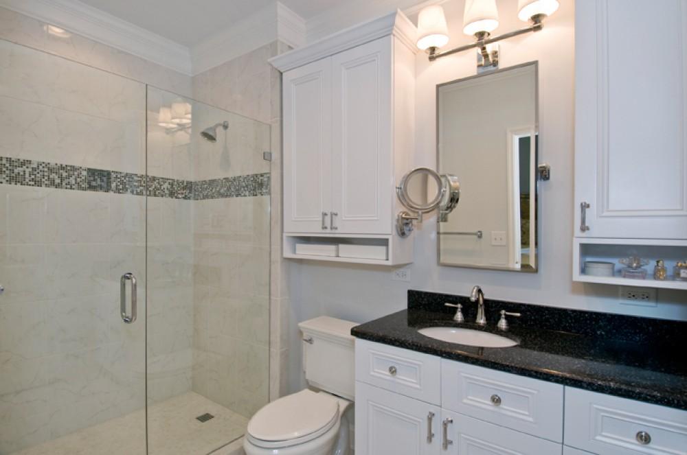 Photo By Strock Enterprises Design & Remodel. Crisp & Clean
