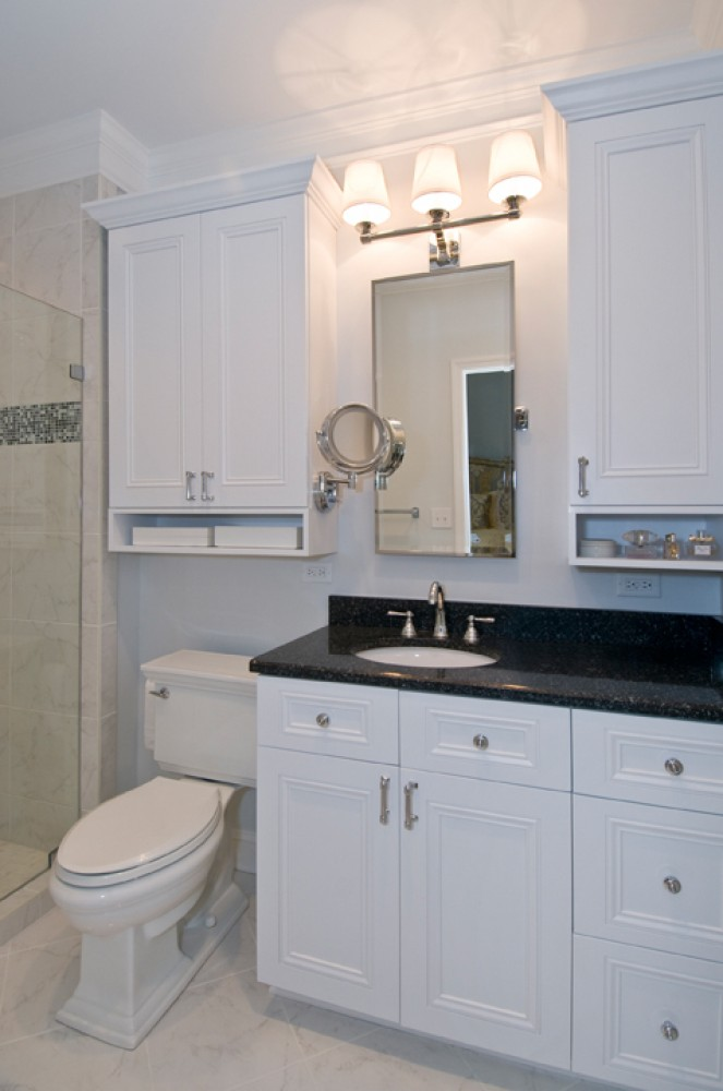 Photo By Strock Enterprises Design & Remodel. Crisp & Clean