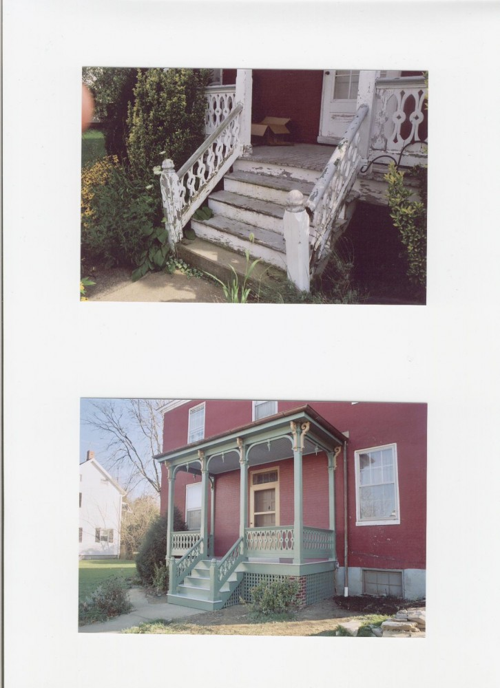 Photo By Houseworks Unlimited, Inc.. Historic Porch Restoration