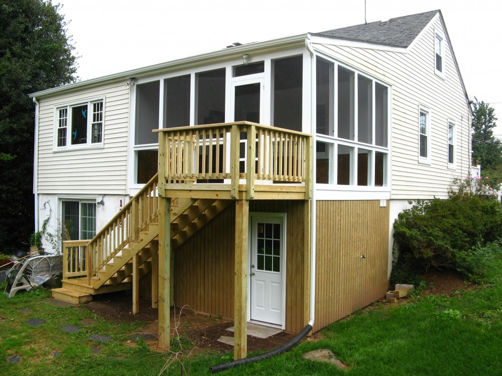 Photo By Houseworks Unlimited, Inc.. Screened Porch Washington Grove