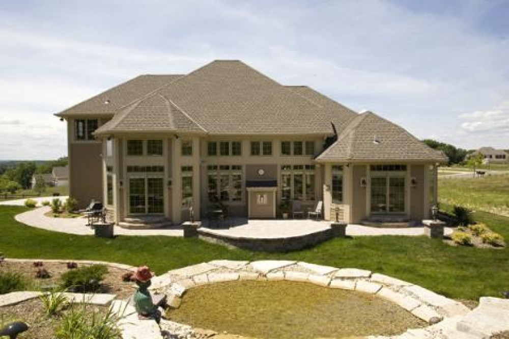 Photo By Burback Builders. Custom Home