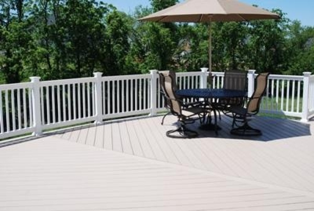 Photo By Contract Exteriors LLC. Deck