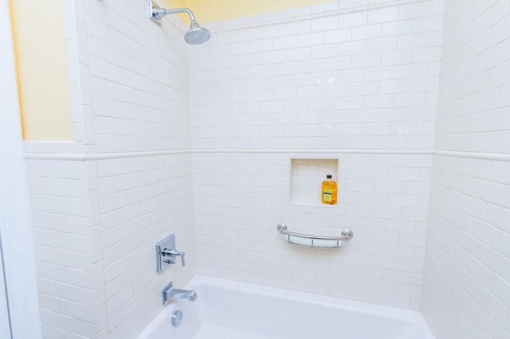 Photo By BK Martin Construction, Inc.. Hall Bath Renovation