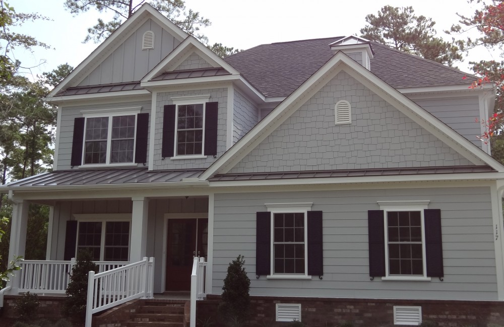 Photo By Contract Exteriors LLC. Roofing