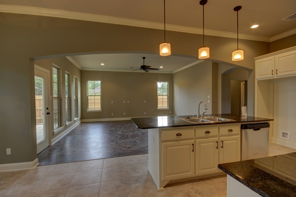 Photo By Manuel Builders. St. Michael Floor Plan With French Elevation