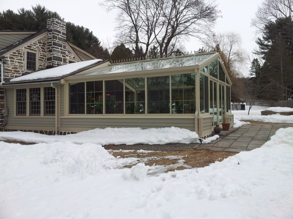 Photo By Hudson Valley Sunrooms. 230 Sun & Stars Cathedral - Sandtone