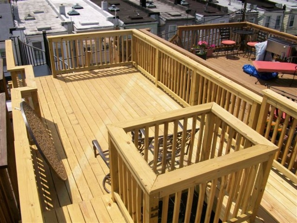 Photo By Fichtner Services Central, INC. Decks