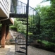 Photo by Appalachian Ironworks of Virginia. Spiral staircase - thumbnail