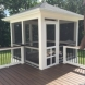 Photo by American Exteriors & Masonry. Deck, Screened Room, and Paver Patio in Round Hill, VA - thumbnail