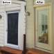 Photo by Crystal Exteriors LLC. ProVia doors and structural repair - thumbnail