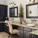 Photo by AK Complete Home Renovations. Classical Contrast Bath - thumbnail