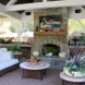 Photo by Brown's Pools & Spas. A Backyard Living Space  - thumbnail