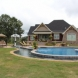 Photo by Brown's Pools & Spas. A Pool Nestled On A Working Farm - thumbnail