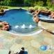 Photo by Hauk Custom Pools, LLC. Hauk Custom Pools Formal Geometric Designs - thumbnail