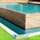 Photo by Hauk Custom Pools, LLC. Hauk Custom Pools Formal Geometric Designs - thumbnail