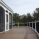 Photo by American Exteriors & Masonry. Deck and Screened Room in Chantilly, VA - thumbnail