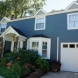 Photo by STL Siding Pros. James Hardie Lap Siding in Evening Blue - thumbnail
