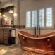 Photo by Mosby Building Arts. Arts and Crafts Master Bathroom - thumbnail