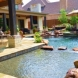 Photo by Hauk Custom Pools, LLC. Outdoor Living Area Entry - thumbnail