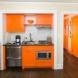 Photo by Bryhn Design/Build. Princeton Orange Apartment - thumbnail