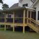 Photo by All American Exteriors. Back Porch Addition - thumbnail