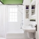 Photo by HC Remodel & Design. Gorgeous Green Bathroom Restored - thumbnail