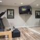 Photo by Sweeney Construction Corporation. Basement.  Basement Bar Area.  Bathroom.  Workout Room.   - thumbnail