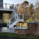 Photo by Prince William Home Improvement. Trex Curved Deck and EP Henry patio - thumbnail