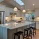 Photo by Barnes Custom Builders. Kitchen Remodel with new flooring - thumbnail