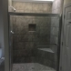 Photo by Bassett Home Services. Master and Hall Bath Shower Installations - thumbnail