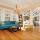 Photo by New England Design & Construction. Kitchen, solarium, living area and powder room - thumbnail