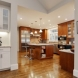 Photo by New England Design & Construction. Major kitchen remodel and circulation changes - thumbnail