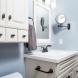 Photo by HC Remodel & Design. Lovely Blue Bath - thumbnail
